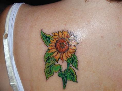 sunflower tattoo small tattoos designs sunflower