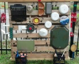 Pallet Kitchen Island how to build an outdoor musical wall for kids diy
