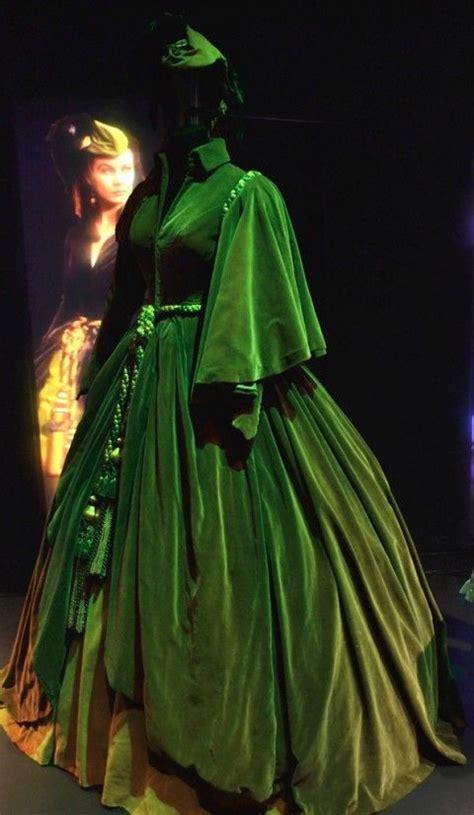 scarlet curtain dress rossella o hara via col vento photo mcgiusti gone with