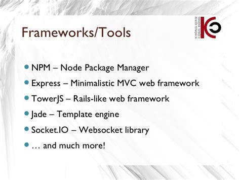 jade template engine sfd hanoi2012 nguyen ha duong yang node js intro