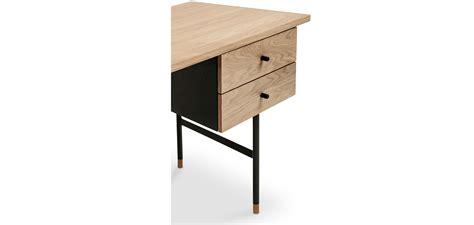 scrivania metallo scrivania in legno e metallo con cassetti stile scandinavo