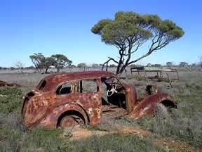 Panoramio - Photo of Old Rusty Car, Nullarbor Plain Rusty