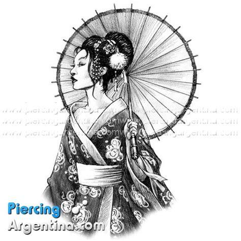 imagenes de tatuajes de geishas tattoo geisha