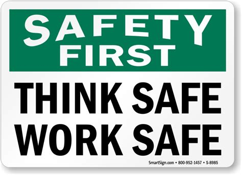 Design My Kitchen Online For Free by Safety First Amp Work Safely Signs Mysafetysign Com