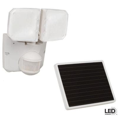 defiant solar motion security light defiant 180 degree outdoor white motion activated solar