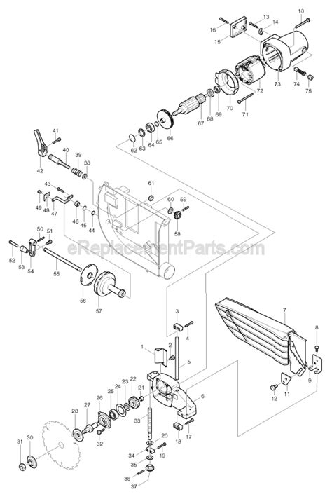 makita 2703 parts list and diagram ereplacementparts