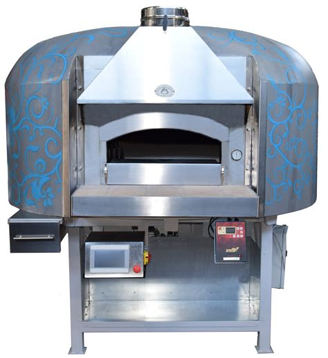 Oven Gas Aluminium traditional dual fuel wood gas pizza oven esposito