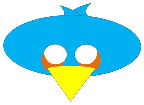 Angry Bird Mask Template bird mask related keywords suggestions bird mask