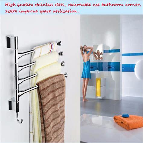wall mounted rotating fan bathroom kitchen wall mounted rotating towel rack storage