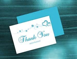 diy wedding card template diy printable wedding thank you card template 2410844