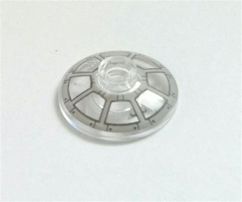 Promo Lego Part Trans Clear Plate 1 X 1 Side Transparen trans clear dish decorated 2 x 2 inverted radar cockpit window pattern