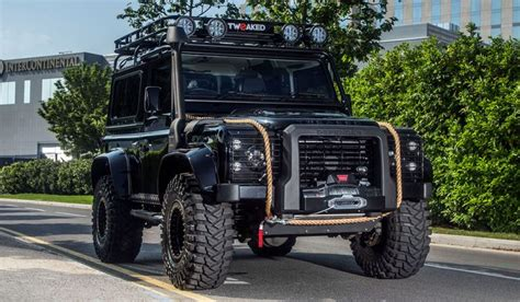 On The Road Amenities Edition by Land Rover Defender 90 110 130 Tweaked Spectre Edition