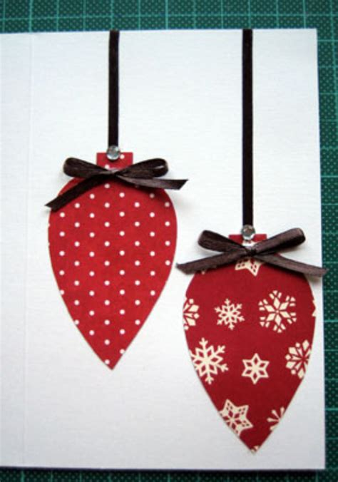 beautiful diy homemade christmas greeting cards  mail family holidaynetguide  family