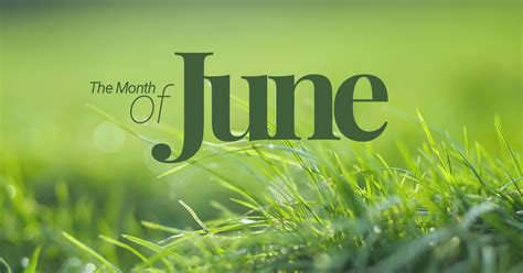 june sixth month of the year
