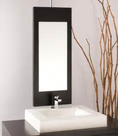 bathroom mirrors z mirror modern bathroom mirrors montreal by wetstyle