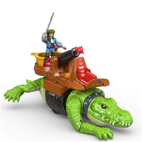 amazon toys amazon com fisher price imaginext walking croc pirate
