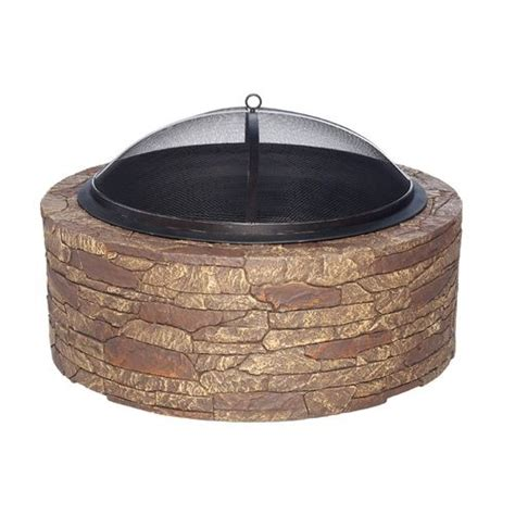 firepit bunnings mosaic portable cast pit academy wish list