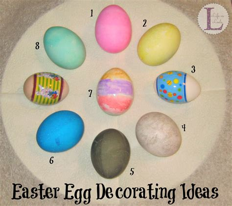easter egg decorating pinterest easter egg decorating ideas life as leels