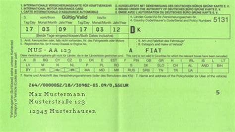 Sterreich Auto Gr Ne Versicherungskarte 214 amtc tipps brauche ich die quot gr 252 ne karte quot 252 berhaupt noch
