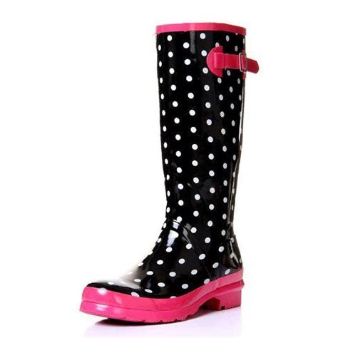 polka dot boots zlyc fashion polka dot color from things i