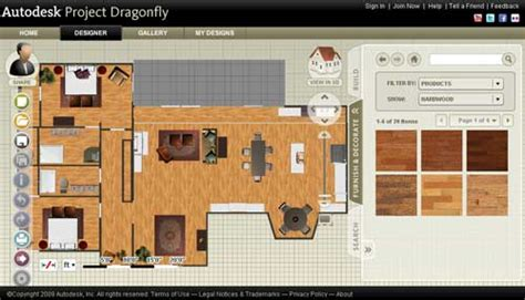 autodesk room planner planificador autodesk project dragonfly