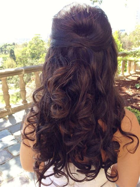 prom hairstyles for long curly hair down half up curly hairstyles for prom hairstyles for long hair