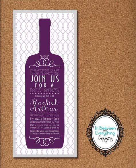 wine bridal shower invitations wine themed bridal shower winery bridal shower wine