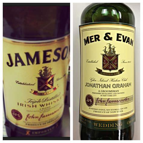 Personalized Liquor Labels