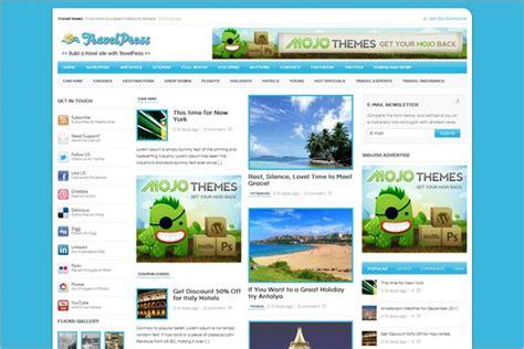 Wordpress Themes Free Travel Agency | 15 free wordpress travel agency themes designssave com
