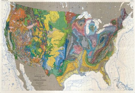geologic map of america best presents for a geologist the edition