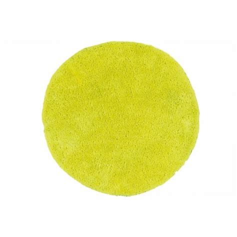 Tapis Rond Jaune by Tapis Rond Jaune Barcelo Achat Vente Tapis Cdiscount