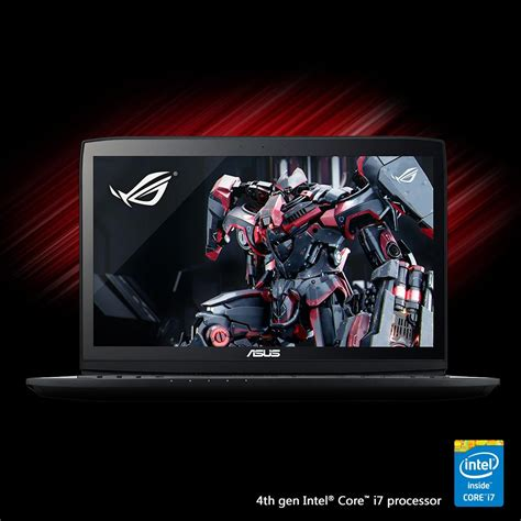 Asus Rog G751jy Dh72x 17 3 Inch Gaming Laptop view larger