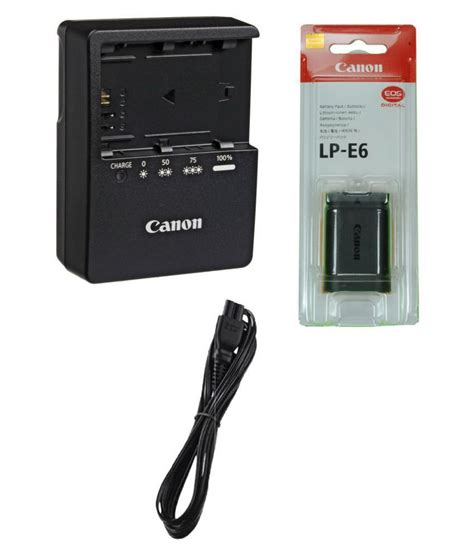 canon cameras battery chargers canon lp e6 battery charger price in india buy