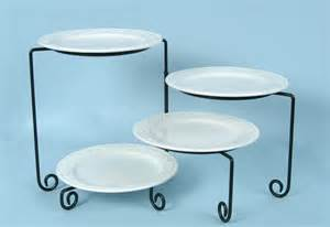4 tiered buffet stand rotating black iron arizona party rental sw events and rentals inc