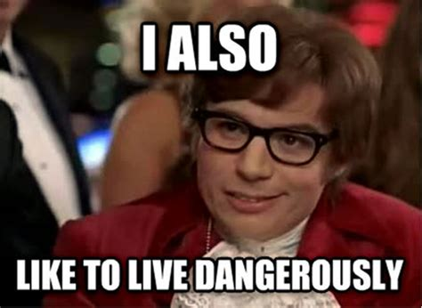 Austin Powers Meme - anti hero book review ravenous monster