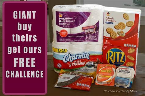 Giant Gift Cards - giant buy theirs get ours free challenge