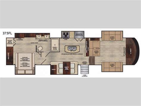 Rear Kitchen Rv Floor Plans by Vilano Fifth Wheel Rv Sales 3 Floorplans