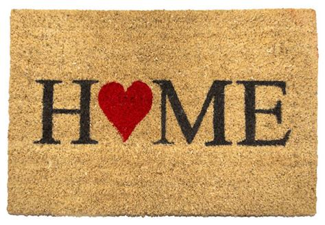 House Welcome Mats Coir Doormat Contemporary Doormats By B M Stores