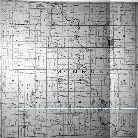 plat maps 1920 plat maps mahaska county of iowa