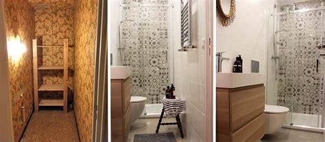 avant apres ils ont transforme  cagibi de   en salle de bains design  pratique
