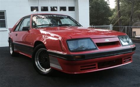 1986 ford mustang coupe 1986 ford mustang saleen original coupe extremly