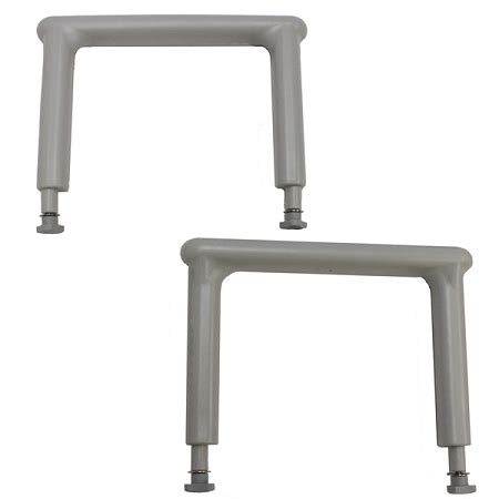 eagle health transfer bench eagle health arm rests for transfer benches pair