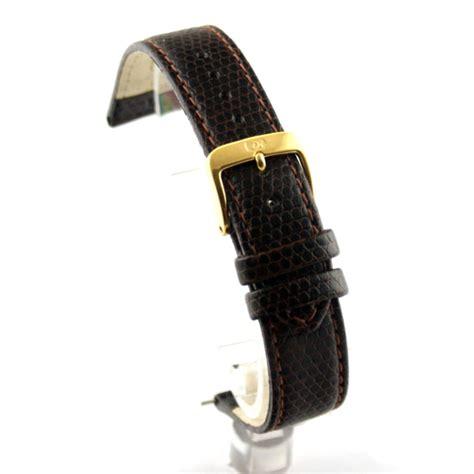 Brilante Mans Black Brown di modell brillant lizard pattern brown leather