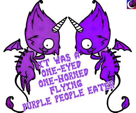 one eyed one eyed one horned flying purple eater www