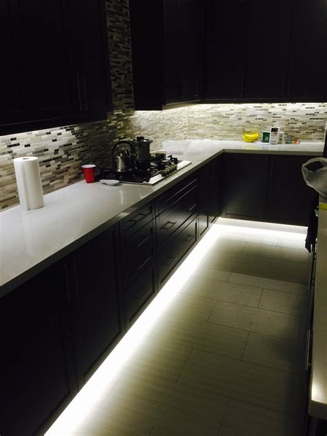 under cabinet lighting ideas under cabinet and footwell led strip lighting also hidden