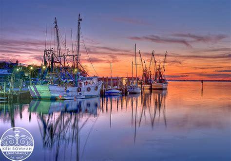 shem creek shrimp boats shem creek shrimp boats sunset 2012 ken bowman