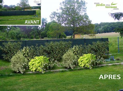 Amenagement Jardin Avec Vis A Vis by Cacher Vis 224 Vis Monjardin Materrasse