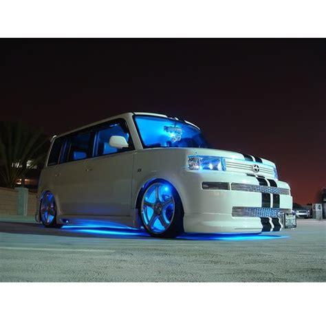 led light strips for trucks wheel well led lights blue car truck kit 4 bright led