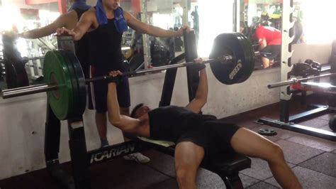 bench press 100kg barbell bench press 100kg 1 rep hong chieh lim youtube