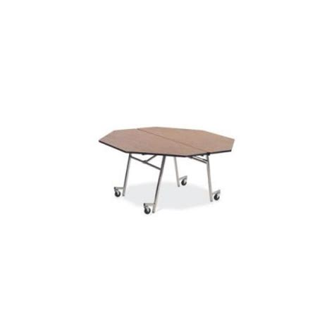 virco mobile folding octagonal cafeteria table mt60oct